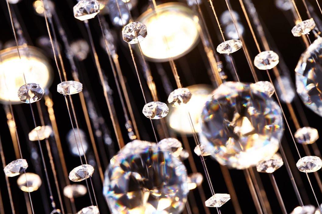 Saint Mossi Chandelier Modern K9 Crystal Raindrop Chandelier3